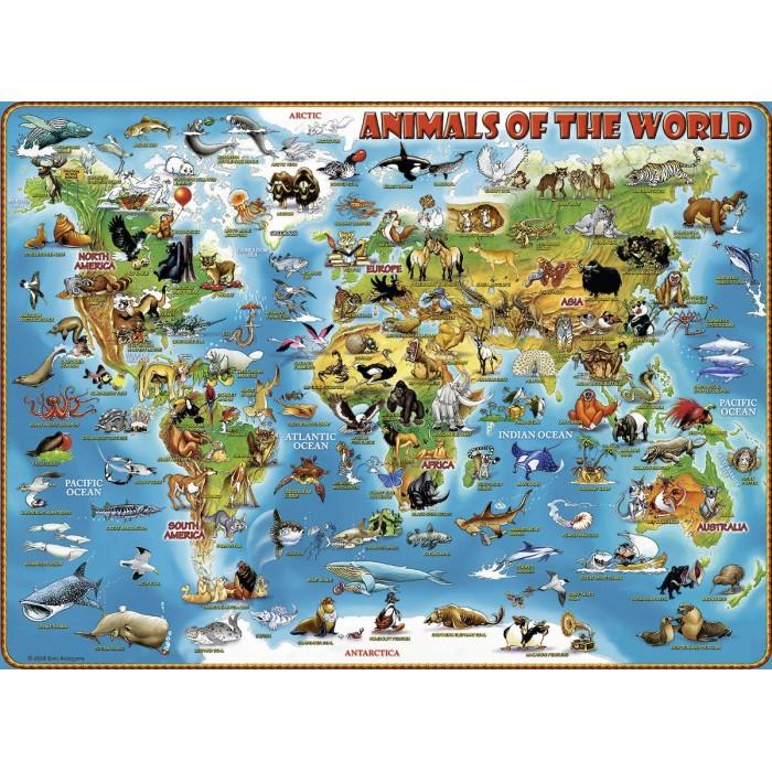 XXL Pieces - Animals around the World