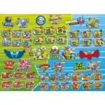 Puzzle  Ravensburger-13263 XXL Pieces - Super Zings B