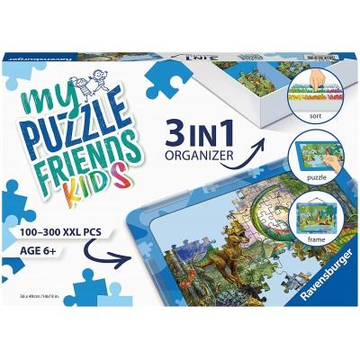 Puzzle Ravensburger-13274 3 in 1 Organizer - 100 - 300 XXL Pieces - Blue