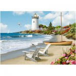 Puzzle  Ravensburger-13535 XXL Pieces - Sunlit Shores