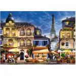 Puzzle  Ravensburger-13560 XXL Pieces - Pretty Paris