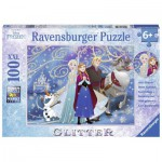 Puzzle  Ravensburger-13610 XXL-Pieces: Frozen - Sparkling Snow