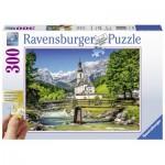 Puzzle  Ravensburger-13645 XXL Pieces - Ramsau, Bayern