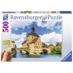 Puzzle  Ravensburger-13651 XXL Pieces - Rathaus, Bamberg
