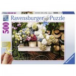 Ravensburger-13654 XXL Jigsaw Puzzle - Flowers and Hats