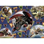 Ravensburger-13665 XXL Jigsaw Puzzle - Dragons
