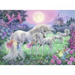 Puzzle  Ravensburger-13670 Unicorns in the Moonlight