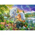 Puzzle  Ravensburger-13673 Star Line - Magical Meet