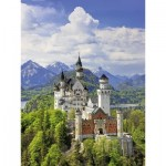 Puzzle  Ravensburger-13681 XXL Pieces - Neuschwanstein