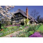 Puzzle  Ravensburger-13684 XXL Pieces - Cottage