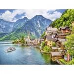 Puzzle  Ravensburger-13687 XXL Pieces - Hallstatt, Austria
