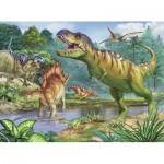 Puzzle  Ravensburger-13695 XXL Pieces - World of Dinosaurs