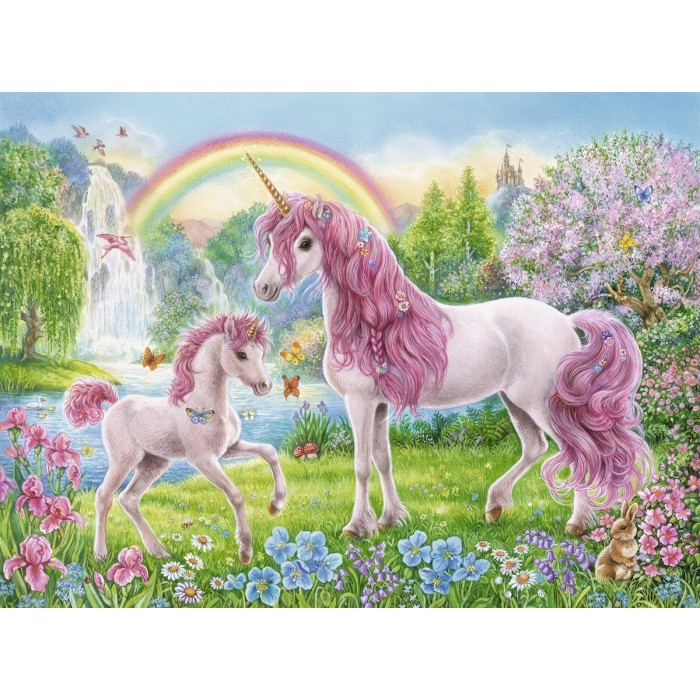 Coloring Booklet - Magical Unicorns