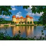 Puzzle  Ravensburger-13708 Moritzburg Castle