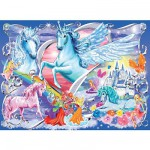 Ravensburger-13928 Jigsaw Puzzle - 100 Pieces - Maxi - In the Fairies Wonderland
