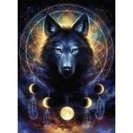 Puzzle  Ravensburger-13970 Starline - Wolf