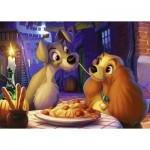 Puzzle  Ravensburger-13972 Disney - Lady and the Tramp