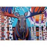 Puzzle  Ravensburger-13979 Winter Moose