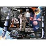 Puzzle  Ravensburger-13980 Apollo 11 50th Anniversary Collestor's Edition