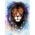 Puzzle  Ravensburger-13981 Majestic Lion
