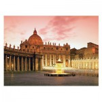 Puzzle  Ravensburger-14017 Italy, St. Peter's Basilica