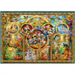 Ravensburger-14183 Jigsaw Puzzle - 500 Pieces - Disney Family