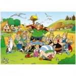 Ravensburger-14197 Jigsaw Puzzle - 500 Pieces - Asterix and Obelix : Asterix at the Village