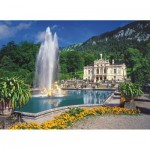 Puzzle  Ravensburger-14255 Germany, Bavaria: Linderhof Castle