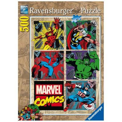 Ravensburger-14339 Jigsaw Puzzle - 500 Pieces : Avengers Adventures