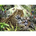 Puzzle  Ravensburger-14486 Jaguars