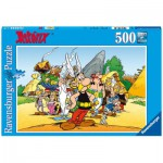 Ravensburger-14635 Jigsaw Puzzle - 500 Pieces - Asterix & Co