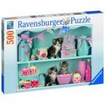 Puzzle  Ravensburger-14684 Cupcake Cats