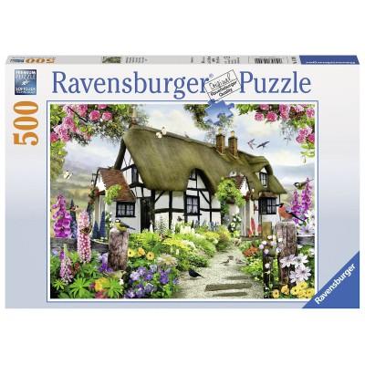 Puzzle Ravensburger-14709 Dreamy Cottage