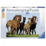 Puzzle  Ravensburger-14717 Horses
