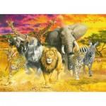 Puzzle  Ravensburger-14724 African Animals