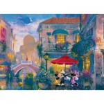 Puzzle  Ravensburger-14725 James Coleman: Mickey in Venice