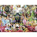 Puzzle  Ravensburger-14739 Disney: Christmas Train