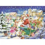 Puzzle  Ravensburger-14740 Christmas