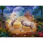 Puzzle  Ravensburger-14743 Fantastic Unicorns