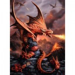 Puzzle  Ravensburger-14747 Age of Dragons
