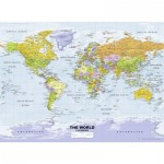 Puzzle  Ravensburger-14755 Political World Map
