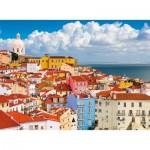 Puzzle  Ravensburger-14757 Lisbon, Portugal