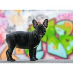 Puzzle  Ravensburger-14771 French Bulldog