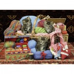 Puzzle  Ravensburger-14785 Fluffy Pleasure