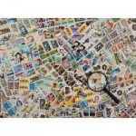 Puzzle  Ravensburger-14805 Postage Stamps