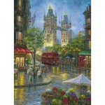 Puzzle  Ravensburger-14812 Picturesque London