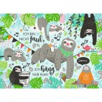 Puzzle  Ravensburger-14814 Paul, the Sloth