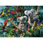 Puzzle  Ravensburger-14826 Koalas in The tree