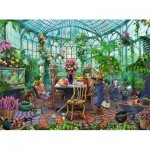Puzzle  Ravensburger-14832 A Morning in the Greenhouse