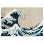 Puzzle  Ravensburger-14845 Hokusai - The Great Wave